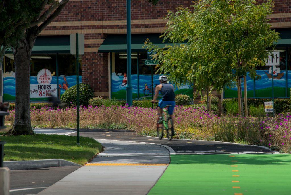 Christie Avenue Bike Path